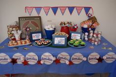 Father's Day Baseball Party Ideas
