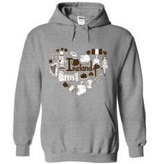 Ireland in heart shape T-Shirts, Hoodies. VIEW DETAIL ==► https://www.sunfrog.com/LifeStyle/Ireland-in-heart-shape-2515-SportsGrey-Hoodie.html?id=41382