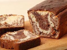 Recette Marbré au yaourt chocolat noisette