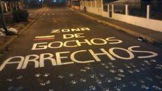 Seguro la GNB no se acerca a ese sector. #TrancaTuCalleTumbaTirano #GuarimbasHastaQueSeVayaNicolas pic.twitter.com/3r4gqk0A2B