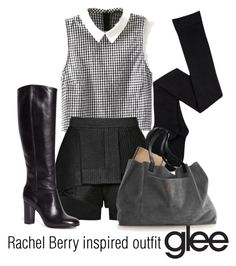 """""""Rachel Berry inspired outfit/Glee"""" by tvdsarahmichele ❤ liked on Polyvore featuring E L L E R Y and Brooks Brothers"""