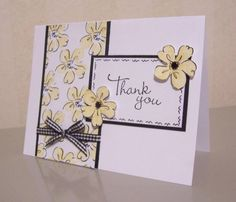 CAS16 Heartfelt Thanks by LaLatty - Cards and Paper Crafts at Splitcoaststampers