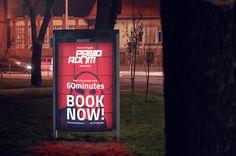 City Light for Paniq Room #citylight #poster #advertisement #billboards