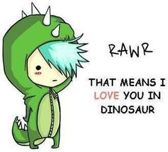 Rawr to you to! <3