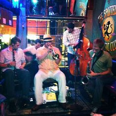 #thespottedcat #frenchmenstreet  http://frenchmenstreetlive.com/the-spotted-cat-music-club/