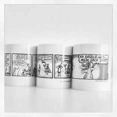 Schickt ein Bild eurer hässlichsten Tasse an post@kritzelkomplex.de und ihr bekommt mit etwas Glück und viel Hässlichkeit eine neue Kritzelkomplex-Tasse zugeschickt ;-)  #kritzelkomplex #gewinnspiel #tasse #kaffee #hässlich #comic #cartoon #comicstrip