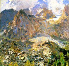 Val d'Aosta - John Singer Sargent  ~1907