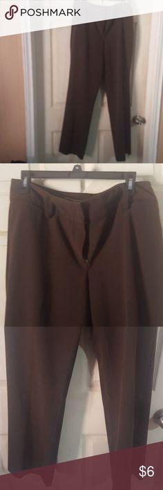 👌👌Work trousers slacks brown Work trousers slacks brown Larry Levine Pants Trousers
