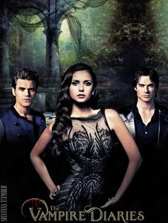 The Vampire Diaries Season 5 Poster...can't possibly get enough of this show. Hooked!
