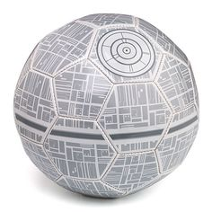 The Death Star Soccer Ball Brings the Force to the Field #worldcup #soccer trendhunter.com