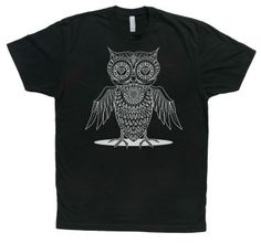 f3cbc5faa Day of the Dead Owl by James Swagerty #shirt #artshirt #tshirt #fashion