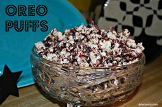 Make your very own OREO PUFFS! Great for the holiday season!