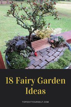 Fairy Garden Furniture, Fairy Garden Houses, Fairy Gardening, Fairies Garden, Garden Deco, Garden Art, Garden Design, Garden Solutions, Homestead Gardens