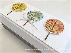 meine kreativenMomente: Der Herbst ist da...