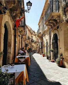 Ilha de Ortigia, Siracusa, Sicília, Itália