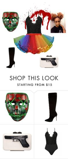 """""""Purge with me"""" by merria-zion on Polyvore featuring Oscar de la Renta and Yazi"""