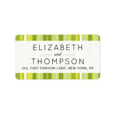 Wedding Bride Groom Family Name Love Black Address Label  Wedding