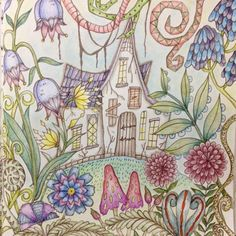 Romantic Country...The Second Tale Coloring Book
