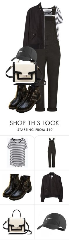 """""""Untitled #1768"""" by itsmeischoice on Polyvore featuring Zara, Topshop, MANGO, Kate Spade, NIKE, women's clothing, women's fashion, women, female and woman"""