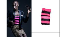 Lupita Nyong'o ignites a saturated color trend // Bright colored decor #neon
