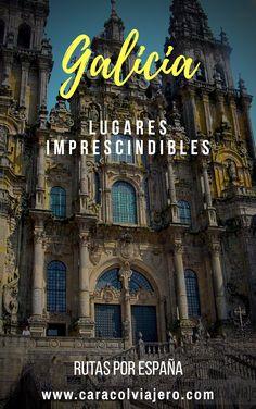Galicia lugares de interés y gastronomía típica #Galicia #España #viajes