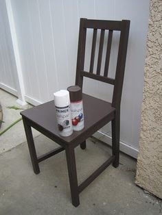 DIY Tutorial Spray Paint any furniture