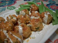 Cook with Sara: Buffalo Chicken Meatballs