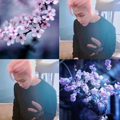 Jimin is so hot with that pink hair.