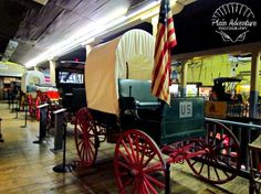 Horse Buggy by Plain Adventure, via Flickr  - in St. Joseph, MO at Patee House Museum