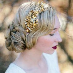 Glammest of Glam Wedding Updos for Long Hair   AllFreeDIYWeddings.com