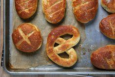 Tastes like a pretzel, looks like a roll.