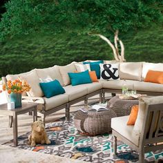 Yorkshire 5-pc. Sectional Seating Set