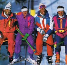 Innovation: 1980s-Ultra fine microfibers made of nylon and polyester were used for high-performance, water resistance, soft ski-wear, as well as other active, outdoor sports.