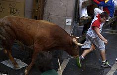 Breakaway bull gores two men in closing Pamplona run Weird News, Two Men, Pamplona, Daily News, Closer, Running, Google, Keep Running