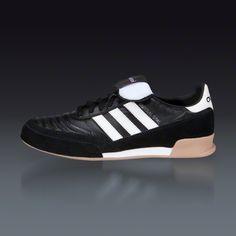 4aba592889a adidas Mundial Goal Indoor Soccer Shoe - Black White