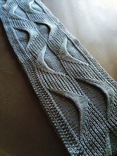 Knitting mutuals, this pattern is STUNNING and really interesting and I love what it does with cables and slipped stitches to create an almost architectural effect. Underlying Structures Cowl