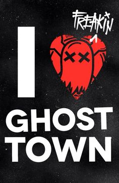Ghost town.