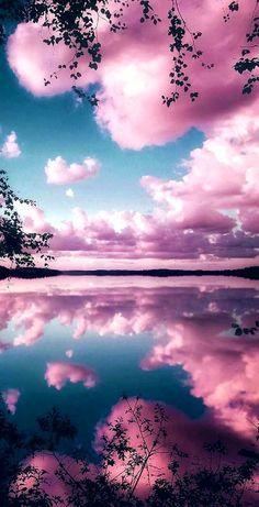 Pink Clouds Wallpaper, Cute Galaxy Wallpaper, Night Sky Wallpaper, Sunset Wallpaper, Iphone Background Wallpaper, Scenery Wallpaper, Tumblr Wallpaper, Mobile Wallpaper, Wallpaper Wallpapers