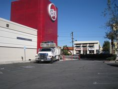 Our truck at a commercial demolition job http://masterdemolitioninc.com/commercial-demolition-services/
