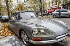 Classic Citroen DS Car in Bruxelles - Spotted on the streets of Bruxelles a classical Citroen DS by Micle Mihai-Cristian