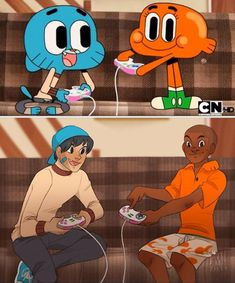 Gumball and Darwin - Seriously that's how imagine them as humans Cartoon Characters As Humans, Cartoon Movies, Anime Vs Cartoon, Cartoon Shows, Cartoon Edits, Nick Et Judy, Fan Art, Character Drawing, Character Design