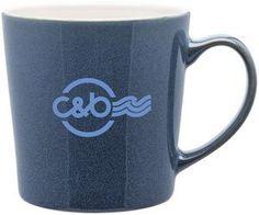 16 Oz. Winter Blue Mona Mug