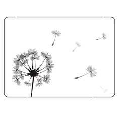Retro+dandelion+silhouette+vector+685848+-+by+IngaLinder on VectorStock®