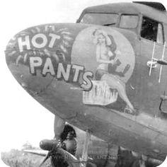 C-47 Skytrain Nose Art | Hot Pants