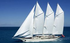 ATHENA is a 295ft luxury sail mega yacht available for charter built in 2004, refitted in 2011. Charter up to 10 guests in 5 cabins (1 Master, 4 Double & 1 Twin) with a crew of 20.