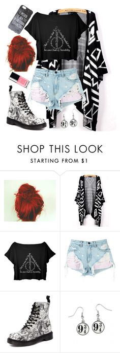 """Untitled #242"" by kate-reads on Polyvore featuring Alexander Wang and Dr. Martens"