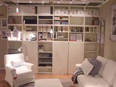 Album - 11 - Gamme Besta (Ikea) Bureaux, bibliothèques, réalisations clients, réalisations magasins...