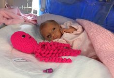 People are crocheting octopuses to help premature babies