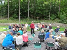Outdoor Service at Green Lakes State Park