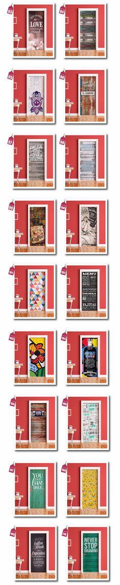 Vinilos Decorativos Para Puertas - Ploteos Personalizados - $ 540,00